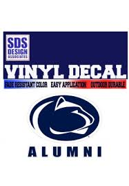 penn state alumni sticker penn state decals for penn state sports starting at 1 99