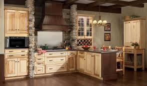Fascinating Hickory Kitchen Cabinets Kitchen Design Ideas - Natural kitchen cabinets
