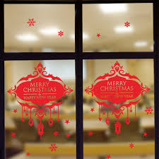 Christmas Window Poster Decorations by Online Get Cheap Christmas Window Posters Aliexpress Com