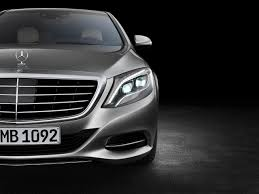 the new mercedes benz s class lights the first ever car without