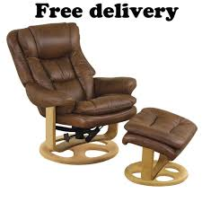gfa wiltshire dual motor chestnut top grain leather recliner chair