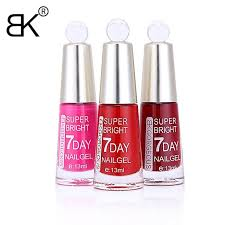 13ml bk brand long lasting 7 days nail polish quickly dry lacquer