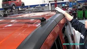Car Roof Box Ebay by Honda Element Roof Rack Installation Honda Answers 59 Youtube