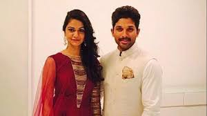 allu arjun and sneha reddy blessed with a baby