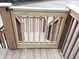 baby gate building deck gate gate and decking