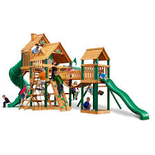 Lowes Swing Set Exterior Lowes Playsets With Gorilla Swing Sets