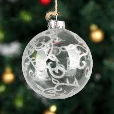 dia10cm glass balls tree ornament decoration event