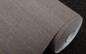 light gray color natural linen straw wallpaper rolls wall paper