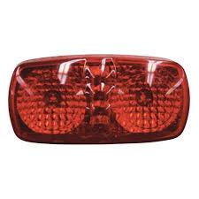 red led marker lights blazer international led multi faceted marker light red walmart com