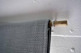 Easy Curtain Rods Cheap Diy Curtain Rods A Small