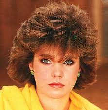 short hairstyles with feathered sides short hair big bangs winged sides 80s hair makeup