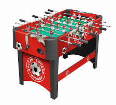 amazon com foosball table amazon com playcraft sport foosball table black 48 inch sports
