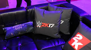 sasha banks brock lesnar and many more attend party for wwe 2k17