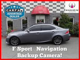 lexus pre owned extended warranty pre owned 2014 lexus is 350 awd f sport nav 4dr car in manheim