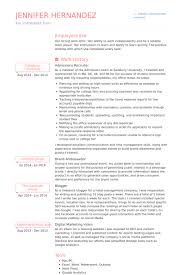recruiter sample resumes hrrecruiter free resume samples blue sky