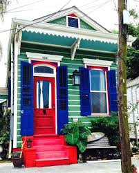 new orleans house paint colors green royal blue red white
