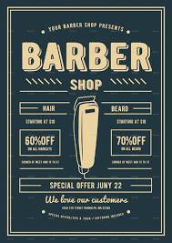 vintage halloween flyer background barber shop flyer by lilynthesweetpea graphicriver