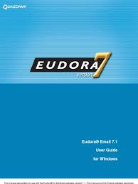 eudora 71 user manual transport layer security email