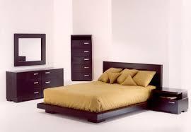 Japanese Low Bed Frame Stunning Platform Bed Flat Panel Footboard