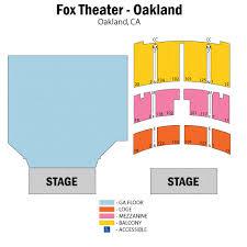 fox theater floor plan fox theater oakland seating chart fox theater oakland tickets