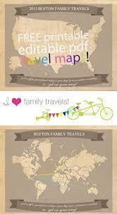 travel maps images Free printable family travel maps jpg