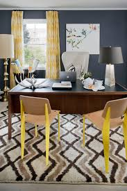 Home Office Curtains Ideas Home Office Curtain Ideas Home Office Eclectic With Midcentury