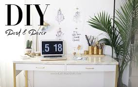 Diy Desk Decor 5 Easy Diy Desk Decor And Organization