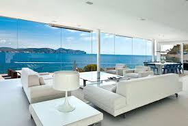 sea view living room interior beautiful villa interior design with gorgeous outdoor