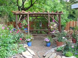 Country Backyards Rustic Landscaping Ideas For A Backyard Design Ideas U0026 Decors