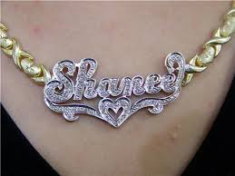 Personalized Name Ring Gp Double Name Plate Xoxo Chain Name Ring Personalized A2 Nikfine