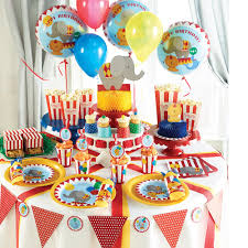first birthday circus stylish baby first 1st birthday circus party plates cups napkins