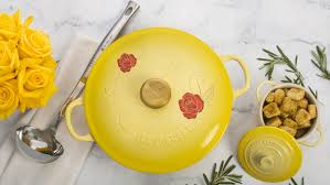 le creuset beauty and the beast le creuset releases new beauty and the beast cookware