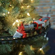 attractive inspiration ideas train set for christmas tree
