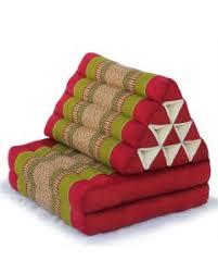 folding cushion thai triangle cushion triangle cushion one fold