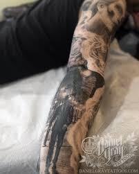 ascension tattoo polynesian half calf sleeve done my tripps kahai at ascension