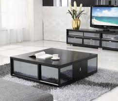 Square Black Coffee Table Large Contemporary Coffee Tables How To Choose Them All