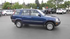 1999 honda crv rims 1999 honda cr v blue stock 140856b walk around
