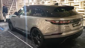 first range rover walkaround range rover velar first edition youtube