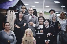 Addams Family Halloween Costumes Quiet Horses Addams Family Halloween