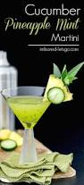 chocolate mint martini cucumber pineapple mint martini