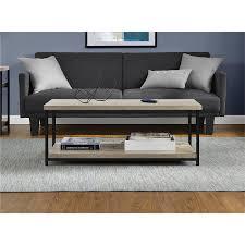 amazon com ameriwood home elmwood coffee table weathered oak
