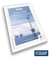 Map Of Northern Europe Energy Map Of Northern Europe Petroleum Economist Store