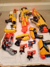 nerf car gun nerf gun bundle x 10 working guns inc stampede hammershot dart