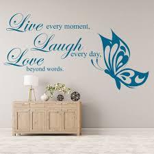 live laugh love live laugh love wall sticker love wall art