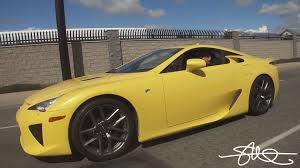 lexus lfa wallpaper yellow test drive lexus lfa it wants to be driven fast 375 000