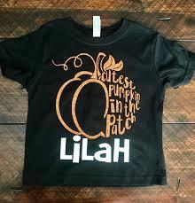 toddler halloween shirt girls pumpkin shirt customized