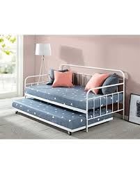 Daybed With Trundle And Mattress Included Deal Alert Zinus Florence Daybed And Trundle Frame Set