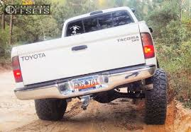 Fierce Attitude Off Road Tires Wheel Offset 1999 Toyota Tacoma Aggressive 1 Outside Fender