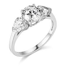 debeers engagement rings 14k yellow or white gold solid wedding engagement rings amazon com