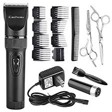 haircuts with hair clippers amazon com eachway quiet professional hair clippers cordless